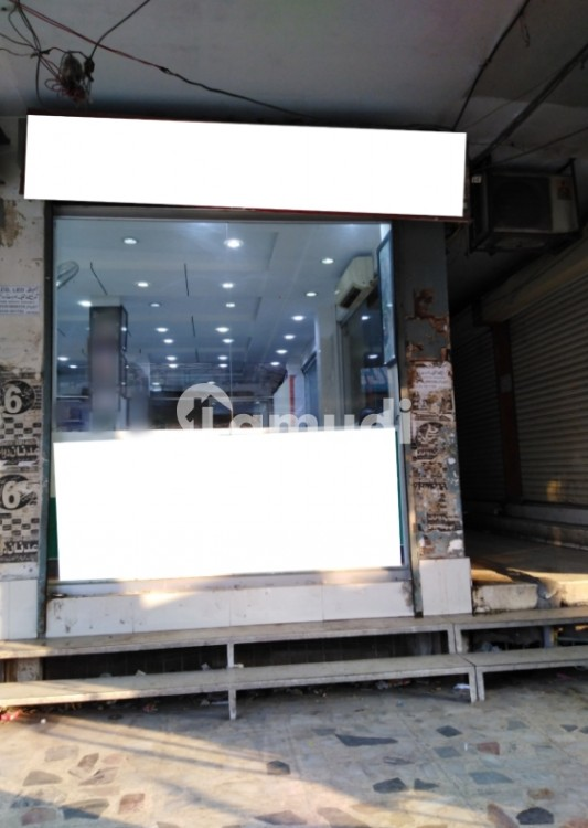 A Corner Shop With Three Shutters Is Available - Allama Iqbal Town - Karim Block