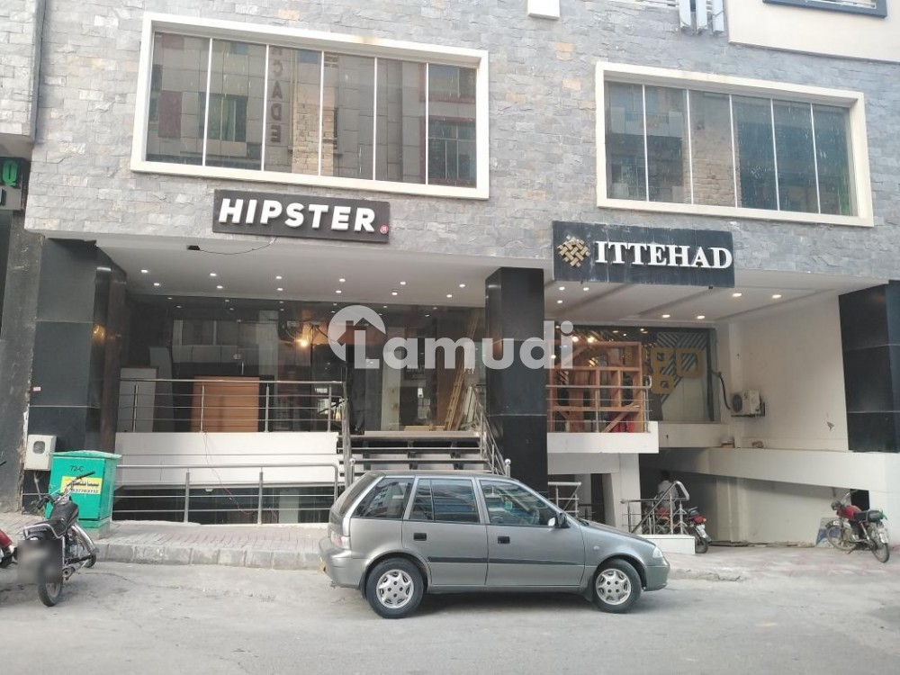 Bahria Town Phase 4 Civic Center Ground Floor Shop For Rent - Bahria Town - Civic Centre