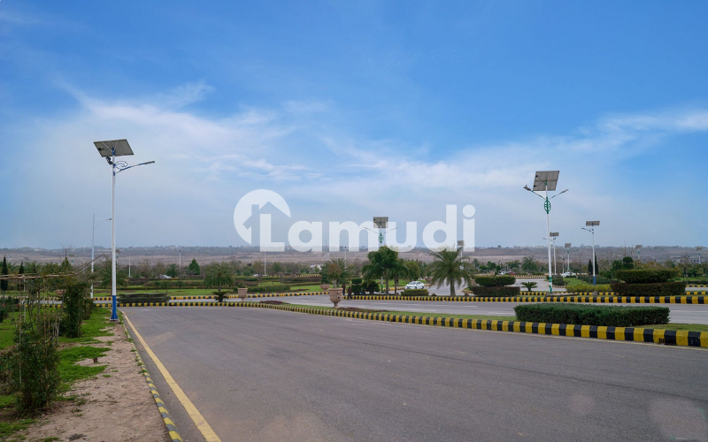Gulberg Residencia Block L Developed Plot Available For Sale At Prime Location - Gulberg Residencia - Block L