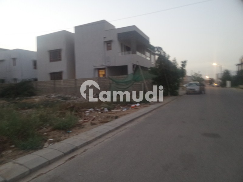 500500 yards pair residential pair plots for sell on 27th street badar - DHA Phase 6