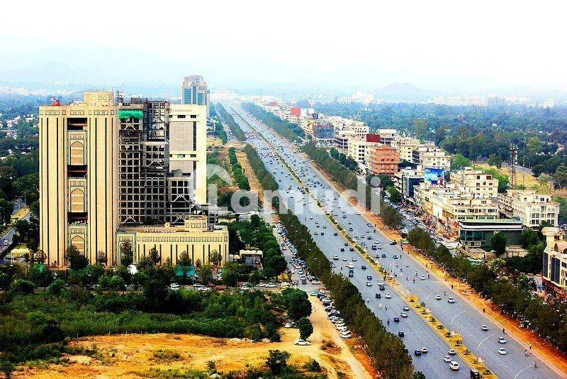 Blue Area 5 Kanal Commercial Plot Available For Sale On Main Jinnah Avenue Double Road - Blue Area