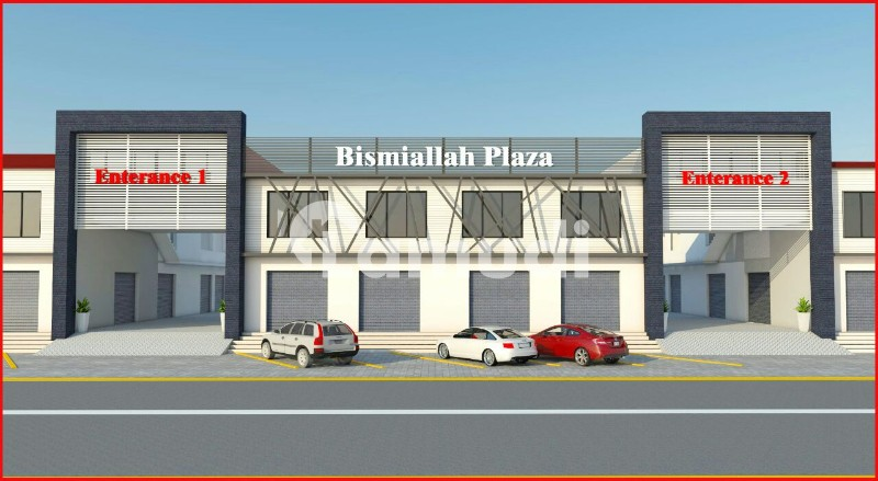 Double Storey Hall Is Available For Sale - Sargodha Road