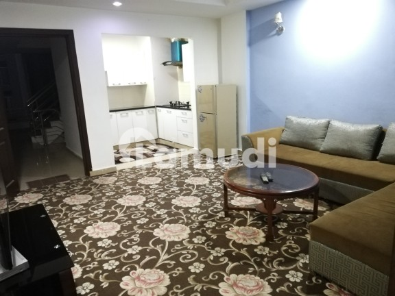 1 Bed Fully Furnished Beautiful Apartment Urgent For Rent Outclass - Bahria Town Phase 4