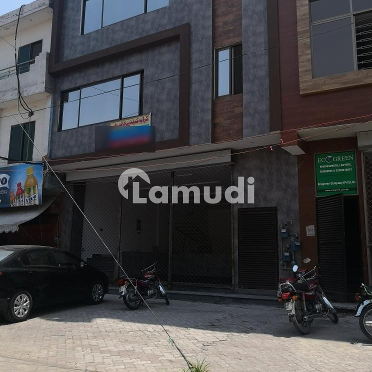 Ground Floor And Basement Is Available For Rent - Canal View