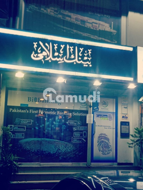 Shop For Sale - Rented To Islamic Bank At 5 Lac - Melody Market