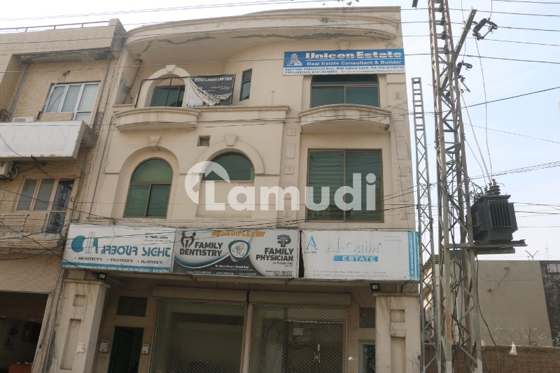 4 Marla Plaza For Sale With 3 Floors With Basement - DHA Phase 1 - Block K