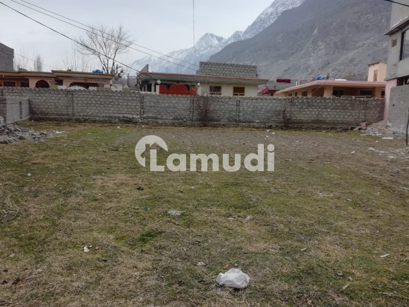 20 Marla Residential Plot Is Available For Sale Near Qurban Ali Petrol Pump Kumar Valley Gilgit - Others