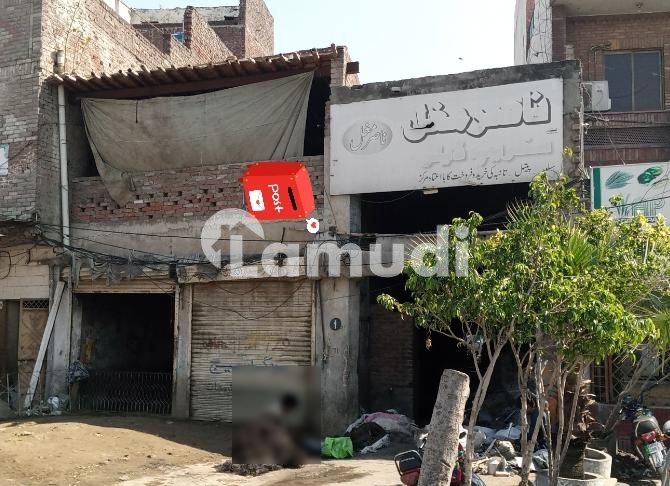 One Godaam With Two Shops  Is Available For Sale - Sheikhupura Road