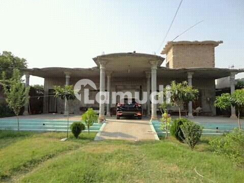 Plot Is Available For Rent With Building On Gt Road - Karakoram Highway