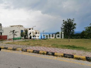 Bahria Enclave Sector G 8 Marla Boulevard Plot  Possession And Utilities Paid Ready For Construction For Sale