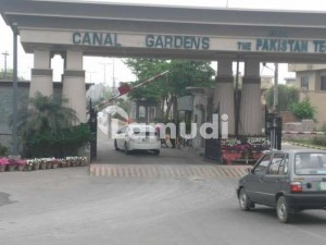 5 Marla Residential Plot For Sale In Canal Gardens Lahore.