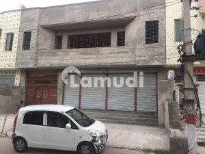1 Kanal Semi Commercial Building On Main Boulevard For Sale