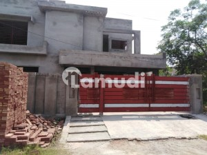 One Kanal Gray Structure House For Sale