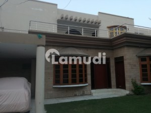 1 Kanal Upper Portion Facing Park Available For Rent In Canal View Society