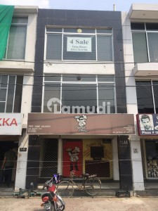 2 MARLA SECTOR SHOP WITH BASEMENT IN BLOCK AA PHASE 4 AVAILABLE FOR SALE AT TOP LOCATION