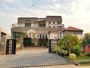 1-Kanal Corner House With Excellent Architecture Is Available For Sale In Gulraiz Housing Scheme Rawalpindi