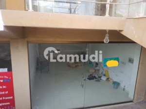 Lower Ground Shop For Rent In Wallyat Complex Bahria Town Phase 7