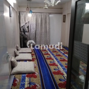2 Bed DD 3 Washrooms Fix Cupboards In Lounge Apartment For Sale