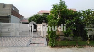 1 Kanal Single Storey House For Sale In Nishat Block Of Chinar Bagh Lahore