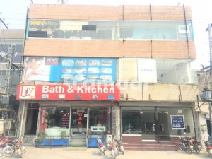 Three Floor commercial Plaza For Rent in DHA Main Boulevard Road Lahore