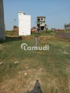 2 Marla Plot Size 20*25 40 Wide Road In VIP Ext