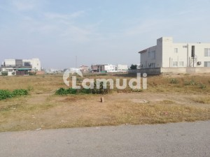 1 Kanal Corner Plot For Sale WiTH All Paids Dues Clear In Dha Phase 9 Prism Block M