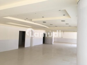 Blue Area 6000 SQ FT Fully Renovated Floor Space on Main Jinnah Avenue Road is available for Rent
