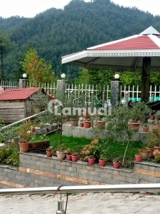 A Big Farm House For Sale Sceneric View Ideal Location Fully Furnished Own Road Having Flat Park Inside Lawn Swimming Pool
