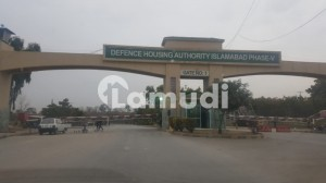 4 Marla Corner Commercial Plot for Sale in Sector C Street  19A DHA Phase 5 Islamabad