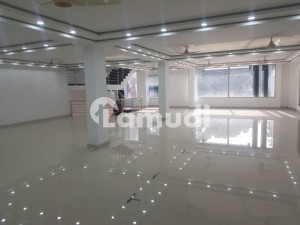 Commercial Hall Is Available For Rent