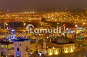 Beautiful Location 1000 Sq Yards Corner Jinnah Face Plot Available For Sale