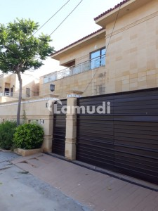 500 Sq Yard Bungalow With Small Basement For Sale In DHA Phase 8 Karachi