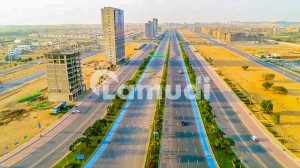 Jinnah Avenue Commercial Plot 500 Sq. Yards Available For Sale In  Numbers Bahria Town Karachi
