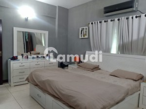 Almost New 10 Marla 3 Bed Flat 6th Floor For Sale In Askari 11 Lahore With Gas