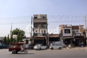 Super Hot Location Commercial Plaza Golden Investment For Sale On Main Canal Road Faisalabad