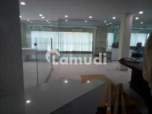 We Offer 6000 Sq Ft Office Space Semi Furnished For Rent In G-10