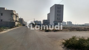 Ayubi Comm Khazeem 3 Side Corner Commercial Plot For Sale In Dha Vii Ext 100 Sq Yd
