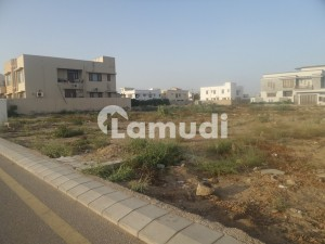 Dreams Ambassador Offer 1000  Sq Yards Demolish Bungalow For Sell In 10th Gizir Street