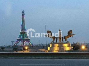 10 Marlal Residential Main Boulevard Paid Plot  25 Excellent developed plot at builder location for sale in Tipu Sultan Block