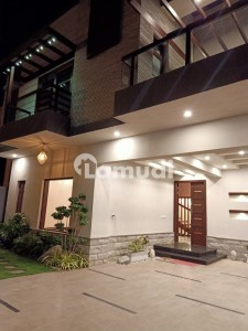500 Yards Brand New Architecture Bungalow For Sale