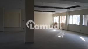 We Offer 3600 Sq Feet 1st Floor Office For Rent Open Hall New Building In F7