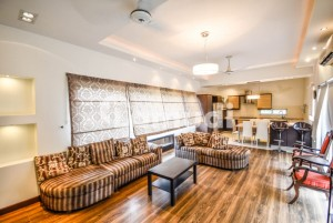 Modern Design Fully Furnished 2 Kanal Bungalow With Swimming Pool For Rent