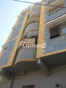 Extra Luxuery Al Rahim Corner Flat Is Available For Sale In Sector 3 North Karachi