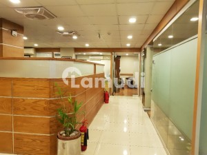 We Offer 7000 Sq Ft Corporate Office Semi Furnished In G6