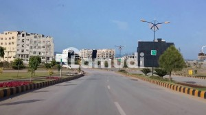 Sector I 5 Marla Corner Extra Land Possession Able All Paid Plot For Sale In Bahria Enclave Islamabad