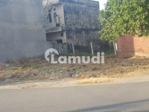 Best Corner 9 Marla Semi Commercial Near Sunday Bazzar And Main Road Plot For Sale