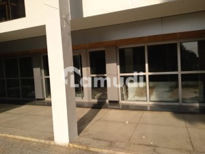 An Excellent Independent Commercial  Unit Front Open To School Road F6 Markaz Is Available For Sale