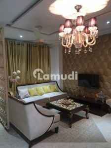 Furnished Luxury Single Bed Apartment For Rent In Tulip Block Bahria Town