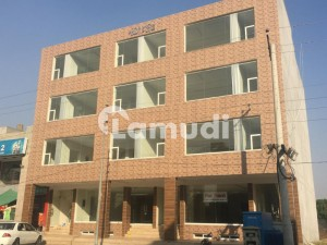 16 Marla Brand New Commercial Building Available For Rent