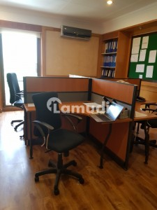 6000 Sq Feet Semi Furnished Office Space For Rent At Prime Location Wide Parking